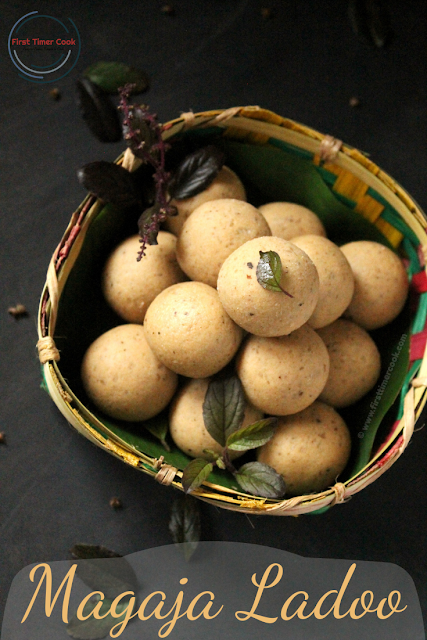 Magaja Ladoo | Wheat Flour Ladoo from Chhapan Bhog