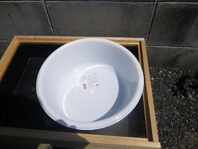 洗い桶 仮組み