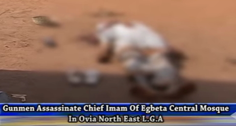 chief imam murdered in edo state