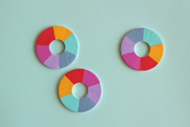 Make Your Own Rainbow Sewing Pattern Weights!