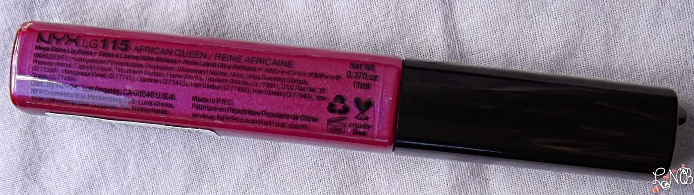NYX  Mega Shine Lip Gloss - African Queen