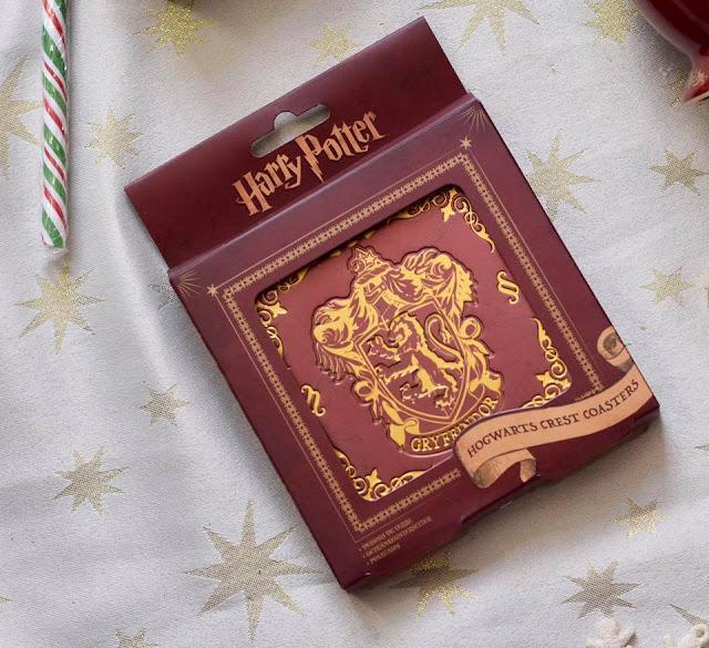 Harry Potter Gifts - Hogwarts crest coasters