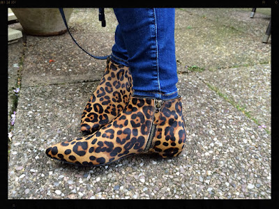 Boden Joni Leopard Print Boot, My Midlife Fashion