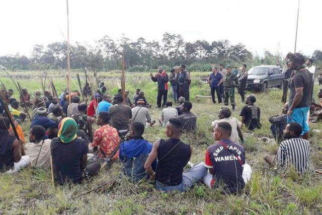 Warga Sebut Korban Meninggal Bentrok di Wamena Terkena Peluru Aparat