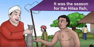 the hilsa fish challenge storys for kids