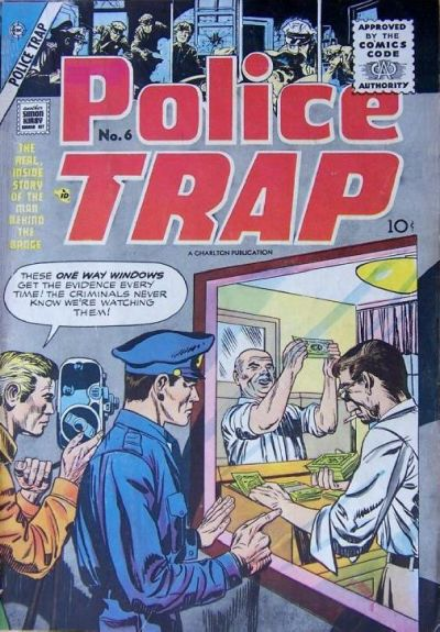 Kirby Police Trap Charlton Comics