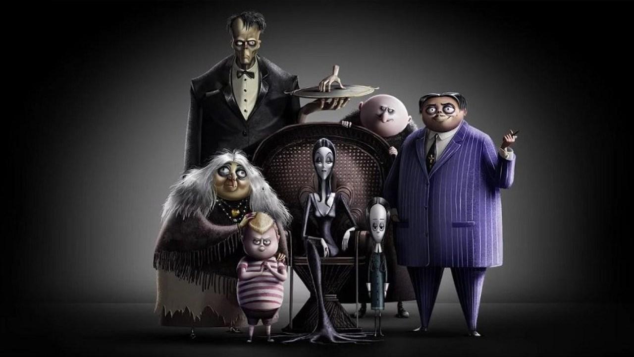 La Familia Addams  - 2019 - Pelicula animación. - Personajes