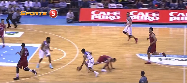 Jayson Castro's NASTY Crossover Puts LA Tenorio on the Floor (VIDEO)
