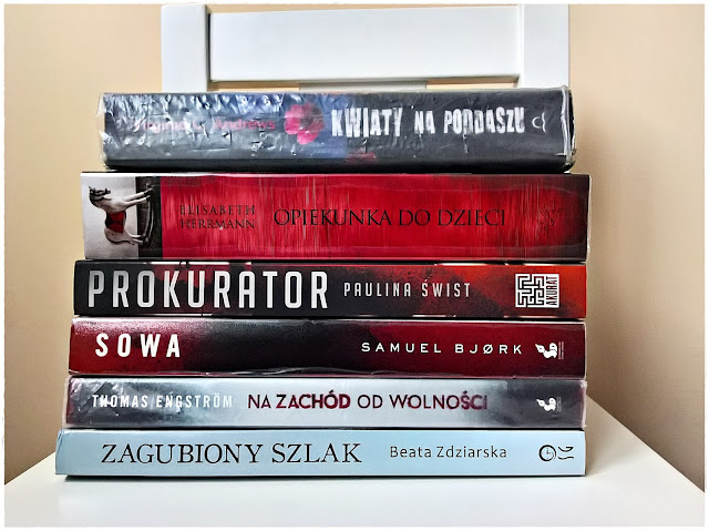 Wybrałam książki na jesień