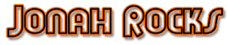 Flood : Jonah Rocks, j'adore ! Le logo de Jonah Rocks