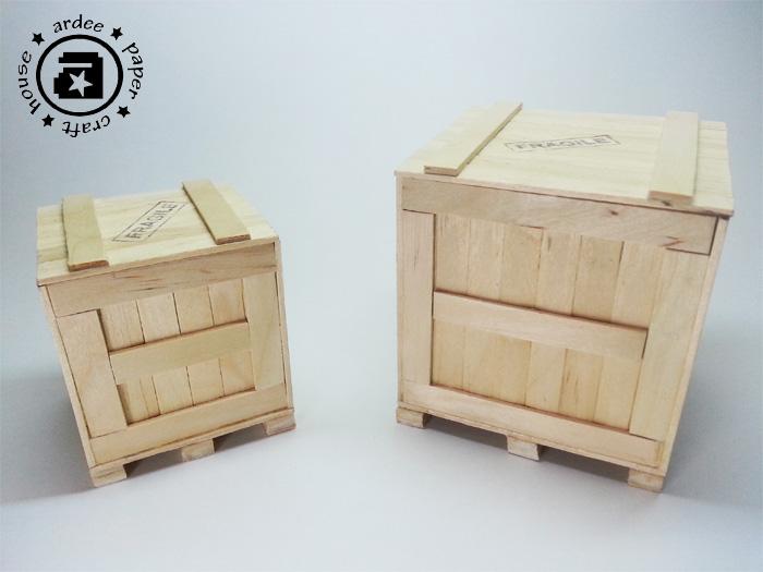 Large New Wooden Storage Box Diy Crates Toy Boxes Set: Mini Crates & Pallet