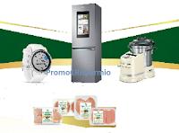 Logo Amadori ''Vive-Re10Più'': vinci Robot da cucina, Garmin Fenix e Frigorifero