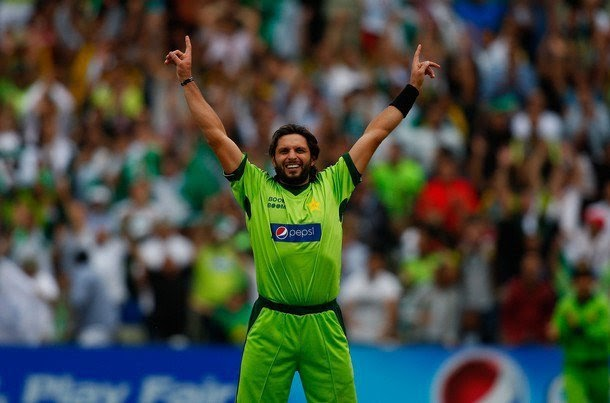 Cricket Info: Shahid Afridi Wallpapers