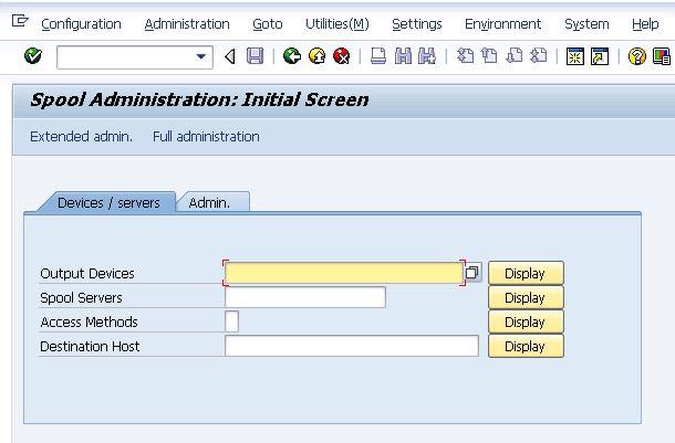 Spool Administration / Print Administration in SAP? - SAP Basis