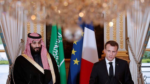 """""""Nunca me escuchas"""": Captan una charla de Macron con el príncipe heredero saudita en el G20"""