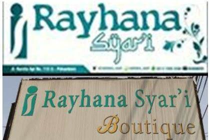 Lowongan Rayhana Syar'i Boutique Pekanbaru Februari 2019