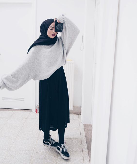 Ootd Fashion Hijab Remaja Casual