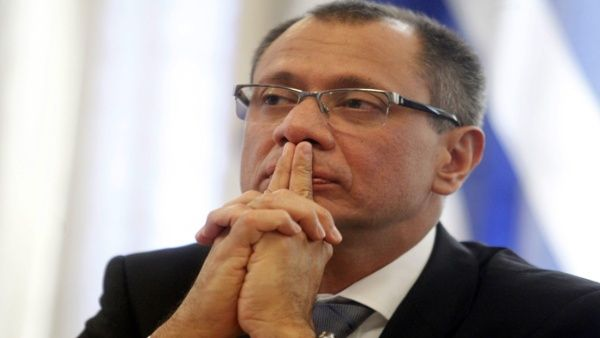 Glas: Se sientan las bases para un Estado de corrupción en Ecuador