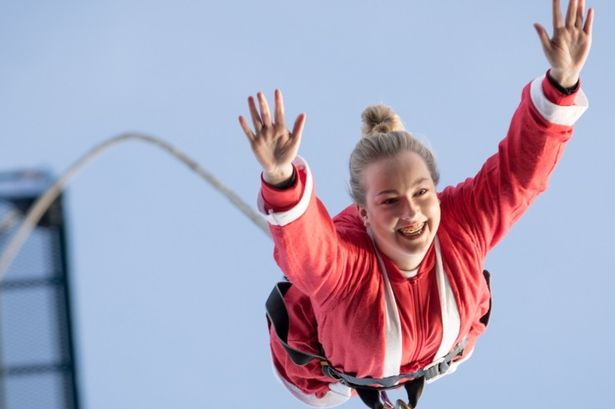 Hilarious Bungee Jumping face Expressions