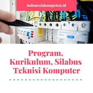 Program, Kurikulum, Silabus Teknisi Komputer 240 JP