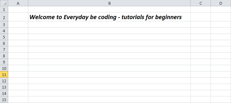 How To Create An Excel File (Development) Using EPPlus  NET