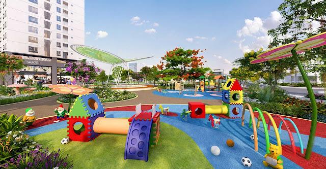Không gian vui chơi dành cho trẻ em tại The K Park
