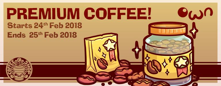 Free Premium Coffee Beans!