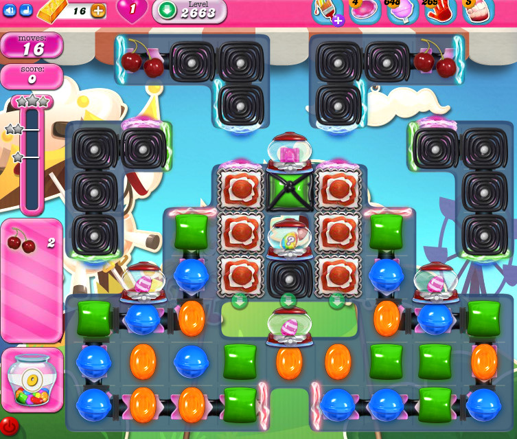 Candy Crush Saga level 2663