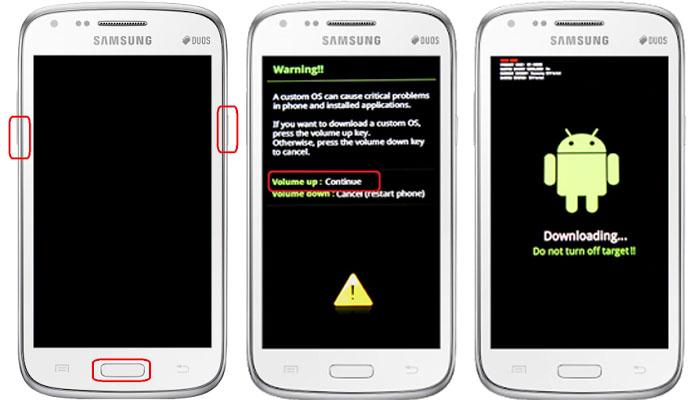 Cara Memasang CWM Recovery dan Rooting Pada Samsung Galaxy Duos I9082