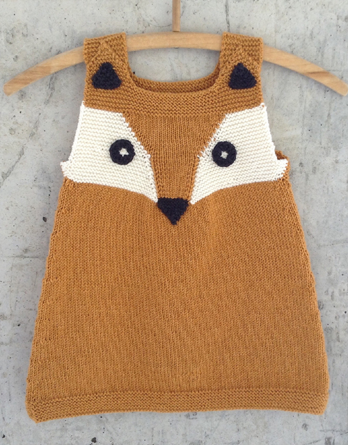 Child's Foxy Tunic - Free Pattern