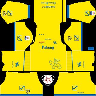 AC Chievo Verona 2018 - 2019 Home Kit