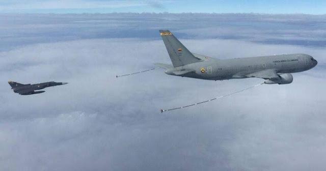 KC-767 jupiter Kfir Fuerza aerea colombiana