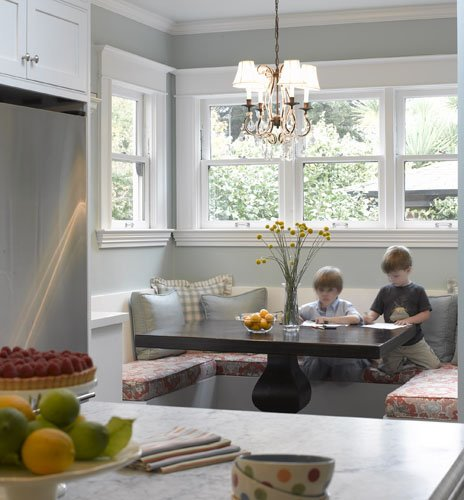 Banquette Seating Dining Room Kitchen Table Pedestal