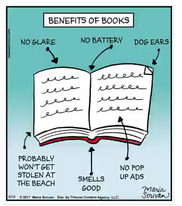 Mystery Fanfare Cartoon Of The Day Benefits Of Books