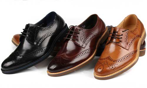Model sepatu pantofel dress shoes