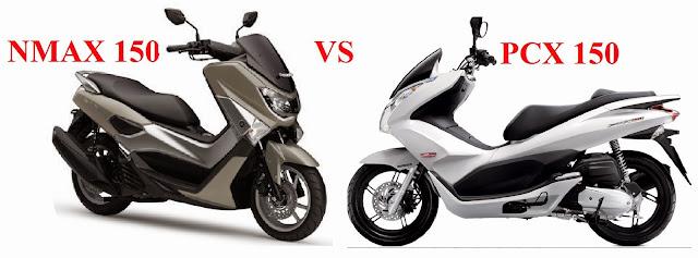 Perbandingan Mesin Honda PCX dan Yamaha NMAX