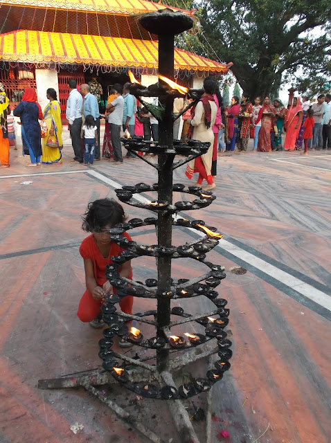 Lamp post at gadhimai