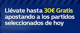 william hill promocion 30 euros liga 23 septiembre