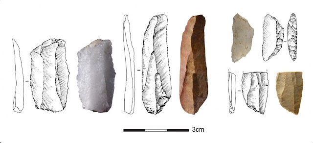 Stone tools from the Middle Stone Age in South Africa shows that different communities were connected