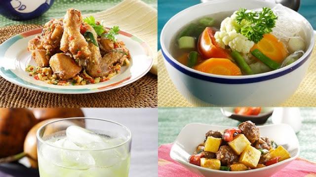 Menu makanan pilihan di bulan ramadhan
