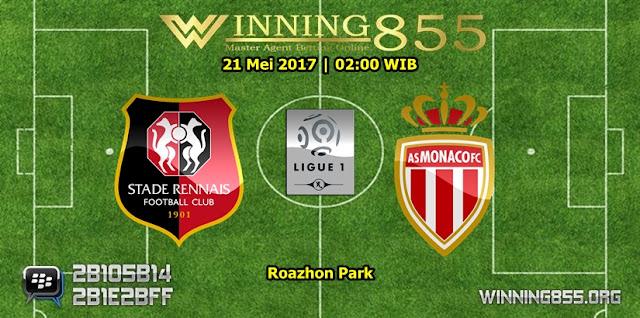 Agen Sbobet - Prediksi Skor Rennes vs Monaco 21 Mei 2017