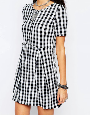 Gingham with button up detail, $40.44 from Noisy May