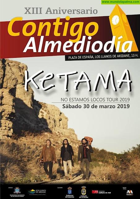 Ketama. 'No estamos locos tour' - La Palma - Los Llanos de Aridane