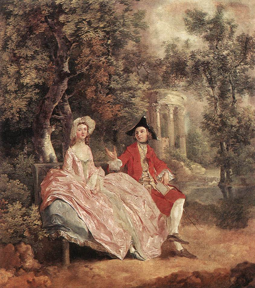 Thomas gainsborough rococo era romantic painter tutt for Rococo period paintings