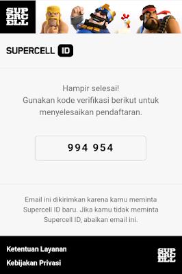 Cara Membuat Akun Supercell.ID Untuk Menjaga Akun Clash of Clans Dari Hack