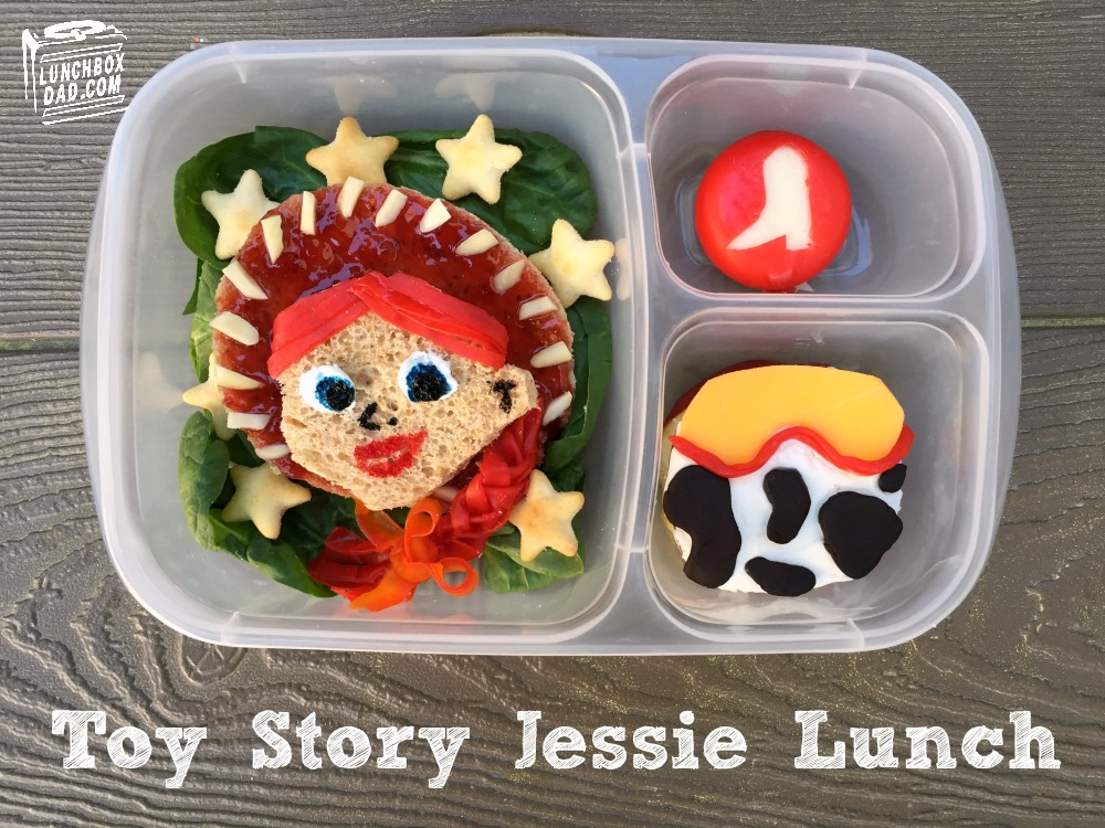 Toy Story Jessie Bento Lunch