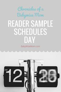 Reader Sample Schedules Day 2017