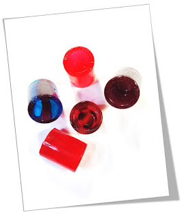 Edible Jolly Rancher Shot Glasses
