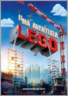 Capa do Filme Uma Aventura LEGO