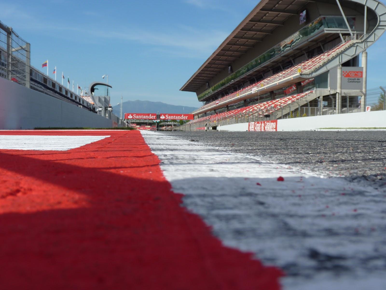 Circuito Montmelo : Pit wall previo gp de españa así es el circuito de barcelona
